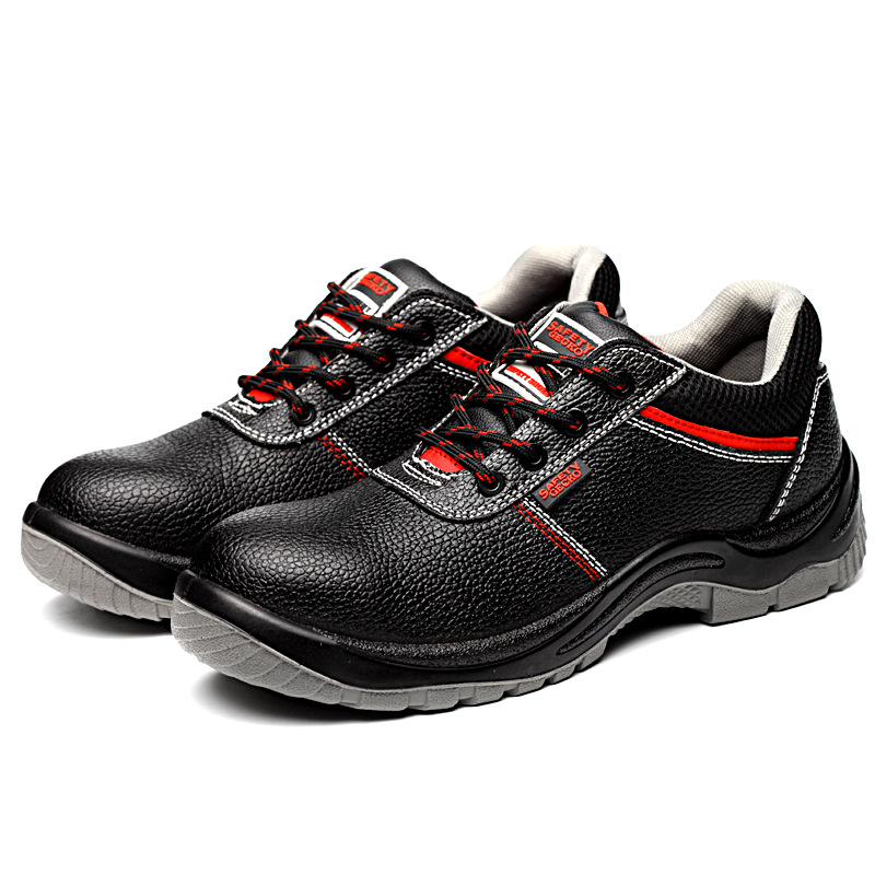 Anti-static safety shoes 6KV insulated shoes leather anti-smashing lightweight and breathable electr