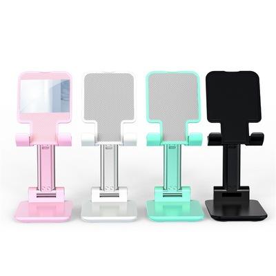 TIANPANZHE phụ kiện chống lưng điện thoại Chân đế phát sóng trực tiếp mini di động có thể gập lại để