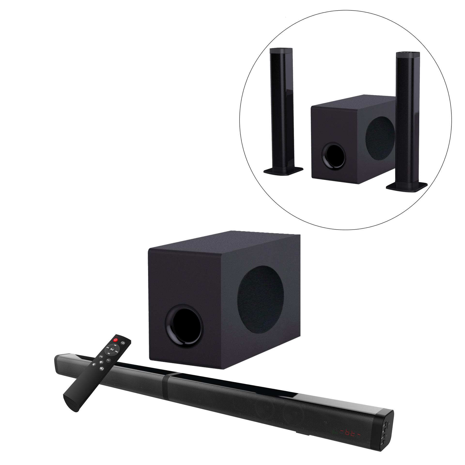 soundbar bluetooth speaker 2020 new home theater TV audio subwoofer echo wall speaker