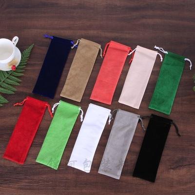 JINHE Túi đựng trang sức Nhà máy cổ phiếu flannel dây rút túi tùy chỉnh túi flannel túi đồ trang sức