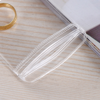 YANBAO Túi đựng trang sức Nhà máy bán buôn túi trang sức PVC trong suốt bao bì, túi nhựa mềm trang s