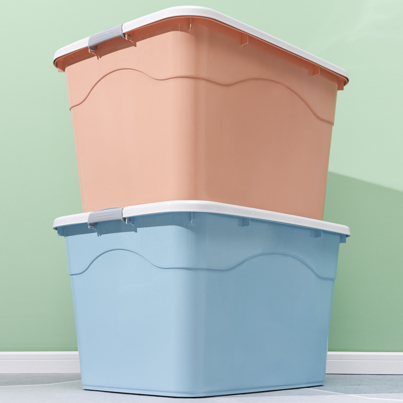 Plastic Box Quilt Toy Storage Box Transparent Clothes Storage Organizer Storage Box Storage Box