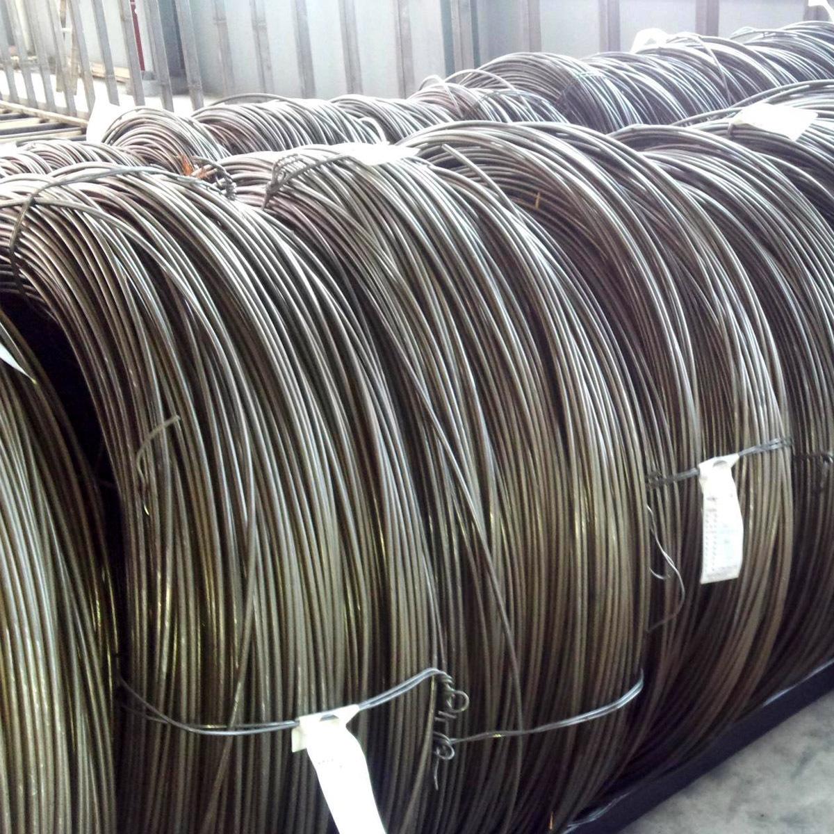Q195L wire 6.5 high wire low carbon steel round wire rod 8 low carbon steel wire