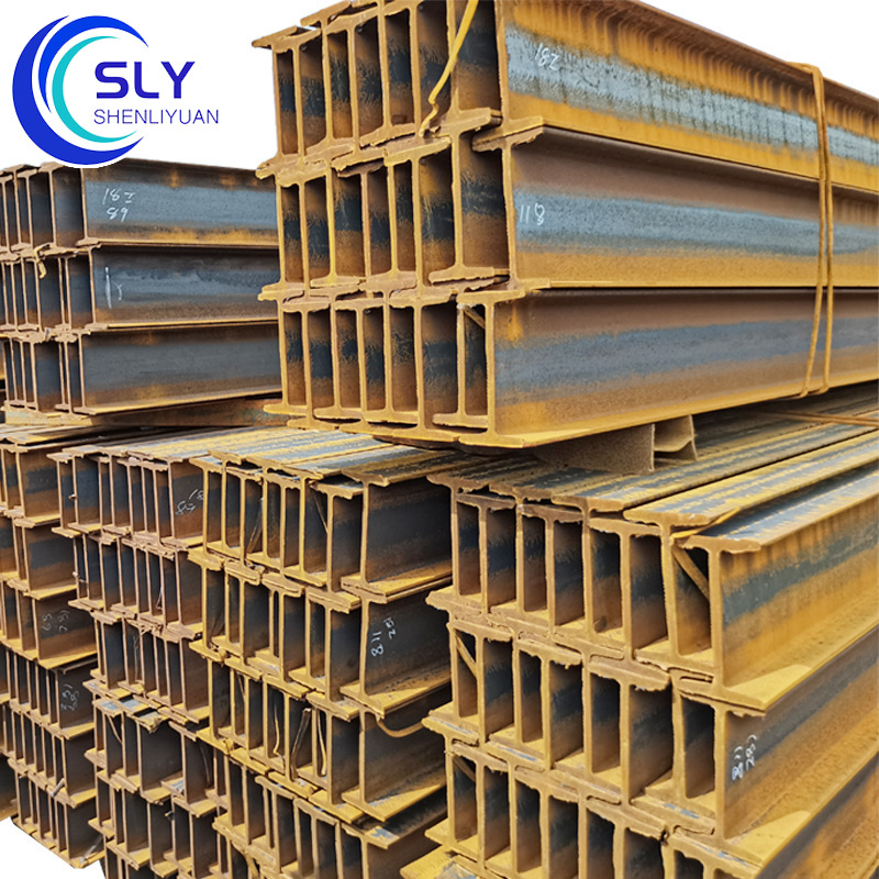 I-beam for construction engineering, metal structure hot-rolled I-beam No. 14 and No. 16 Q235B I-bea
