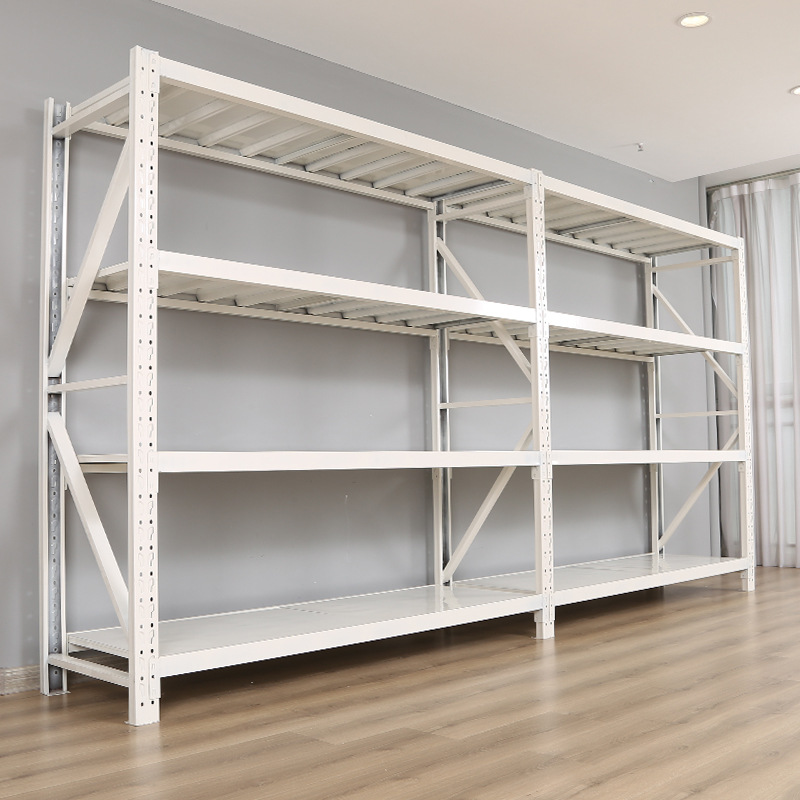 Light-duty storage shelves, household storage room shelves, storage shelves, shoe stores, grocery st
