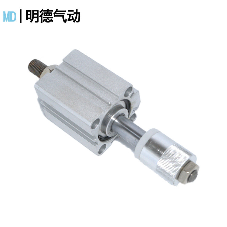Airtac SDA thin cylinder 20*5 double-acting adjustable stroke cylinder with magnetic pneumatic compo