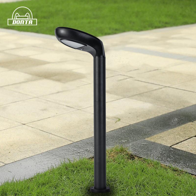 New led outdoor community garden light 5W Douban style ground plug solar lawn light