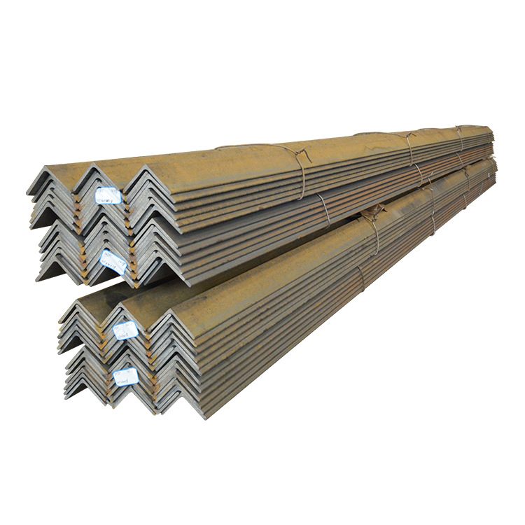 Galvanized angle steel angle iron equilateral angle steel national standard Q345B cutting and punchi
