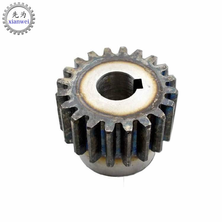 Reduction gear small module spur gear metal gear