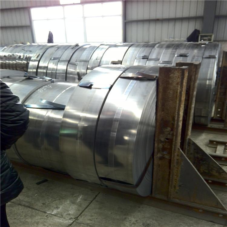 Galvanized strapping q235 galvanized strip steel corrugated pipe strip galvanized strip steel