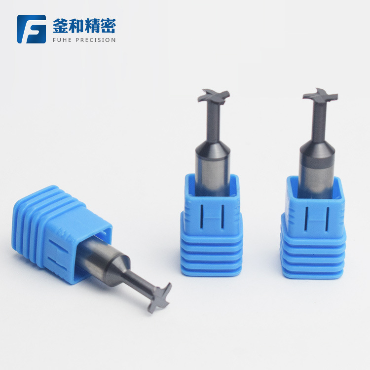 58°Cemented carbide tungsten steel T-type cutter T-type milling cutter CNC machining slot milling cu