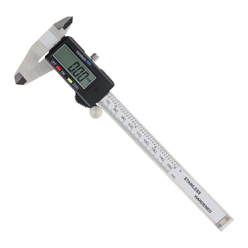Inner and outer diameter depth step measurement 4cr13 stainless iron digital vernier caliper 0-150/0