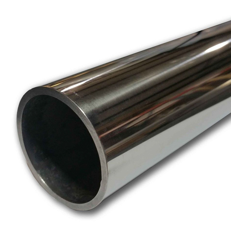 Thick hollow round tube laser cutting precision cold-rolled steel pipe processing custom 409L round