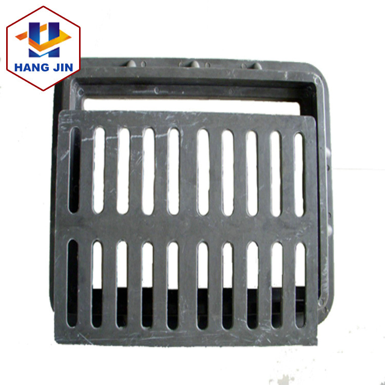 Highway load-bearing drainage grate can be customized stainless steel drainage ditch cover sewer man