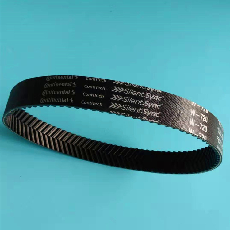 German Continental Herringbone Tooth Synchronous Belt Industrial Belt W-720-8M Transmission Tooth Be