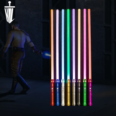HL kim loại lightsaber chiến tranh giữa các vì sao laser kiếm chợ đêm đồ chơi phát sáng âm thanh có