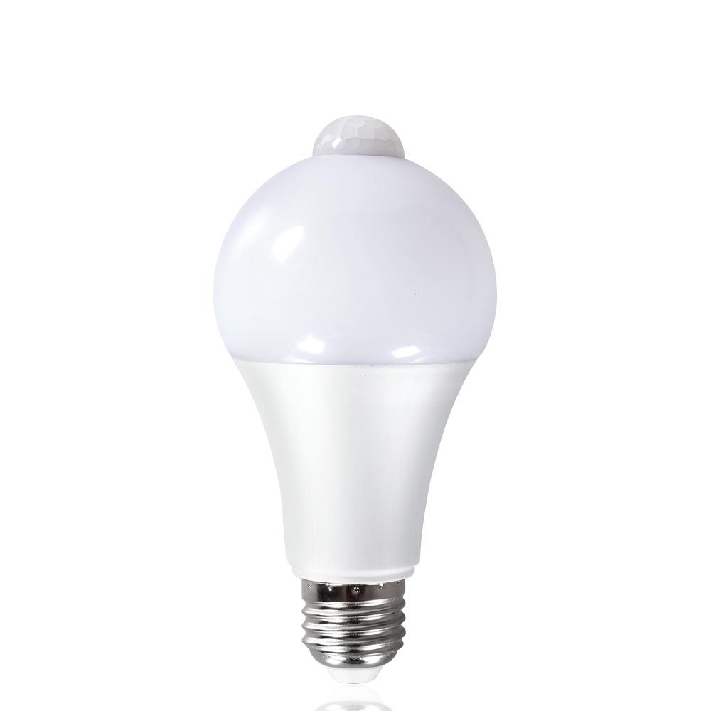Smart bulb 9w12w induction bulb light infrared bulb human body induction bulb 7w 5w