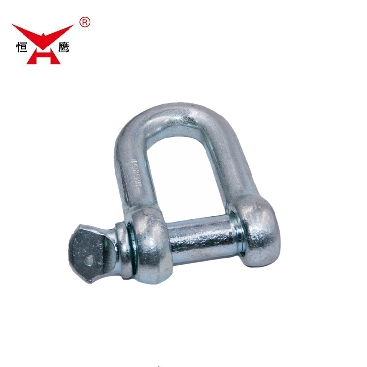 Shackle GB marine U-ring lifting D-type shackle wire rope sling hoisting buckle