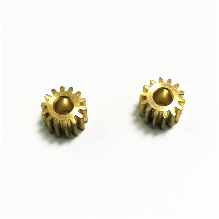 ANCHENG Precision hardware gear lathe parts, turning pinion gears, custom CNC
