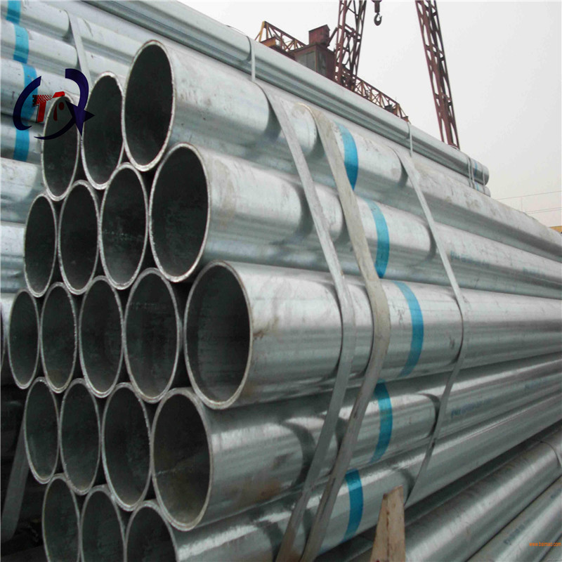 Hot-dip galvanized square pipe thick-walled galvanized pipe seamless spiral galvanized column