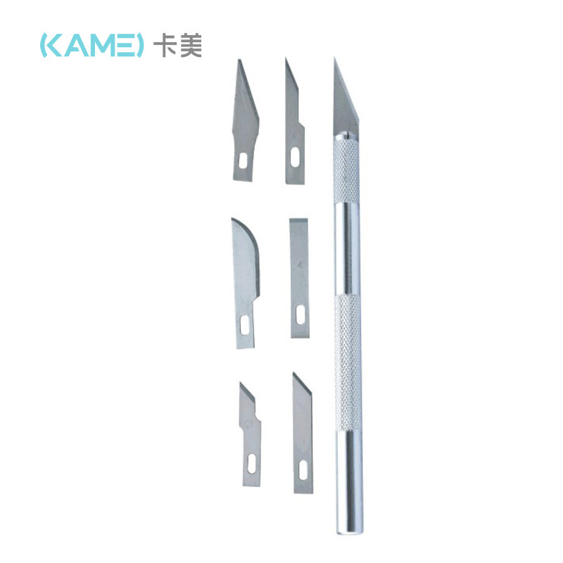 Kamei carving knife set board drawing tool model making hand account DIY tape photo rubber stamp car