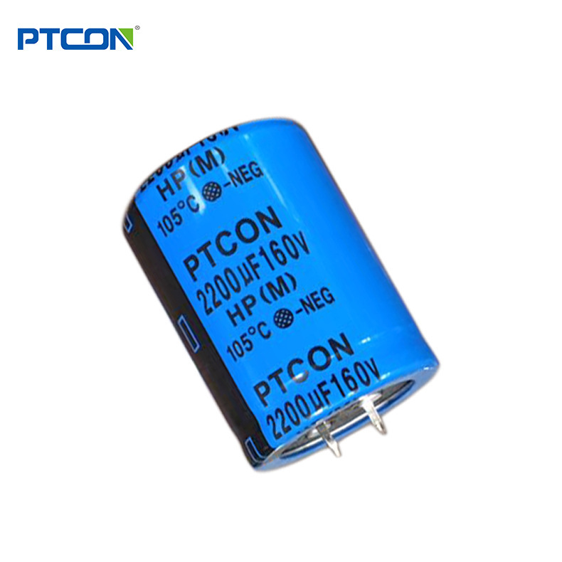160v2200uf brand new Pengtai factory price wholesale horn aluminum electrolytic capacitor power supp