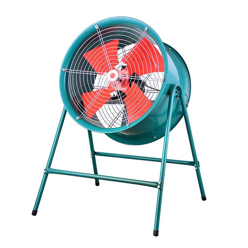 Copper core SFG5-4 1.1kw No. 5 4-level post-type low-noise axial flow fan Exhaust fan
