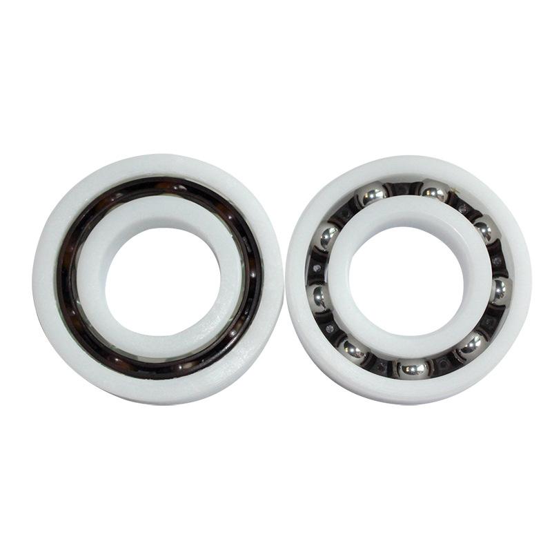 JWZC Waterproof high-speed engineering bearing POM6000 material series plastic bearing