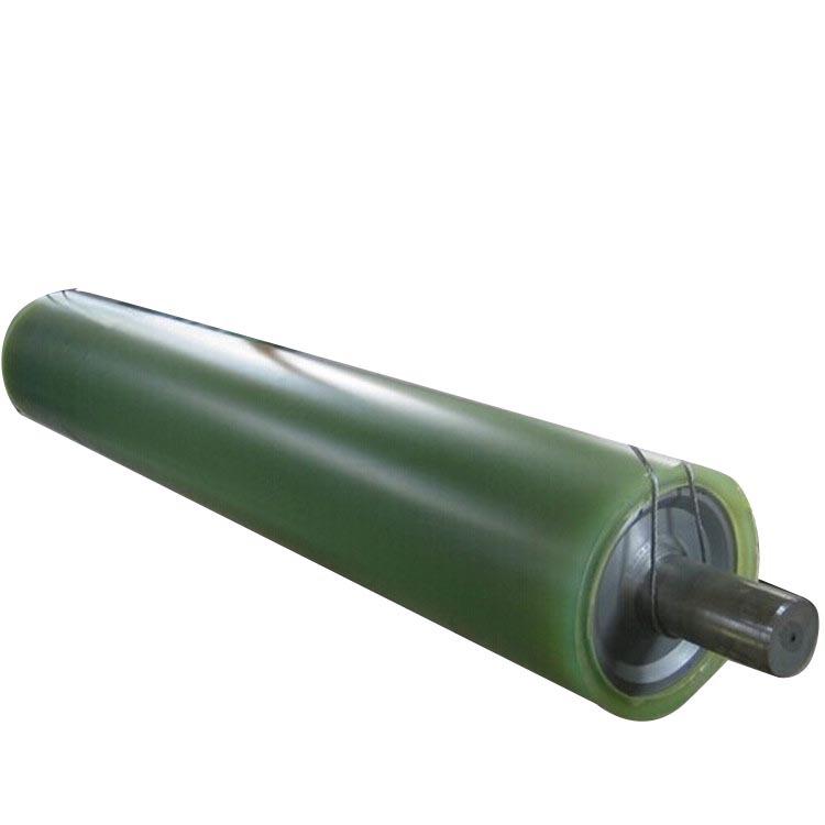 Polyurethane coated rollers Polyurethane conveyor rollers Polyurethane coated rollers