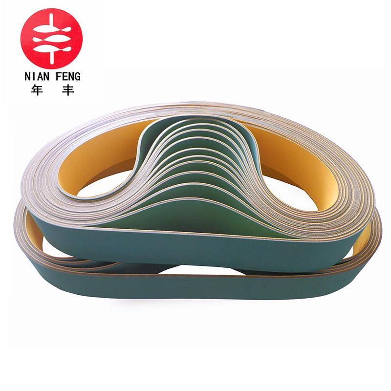 Canvas flat tape Polyurethane industrial belt drive belt Anti-static high temperature resistant high