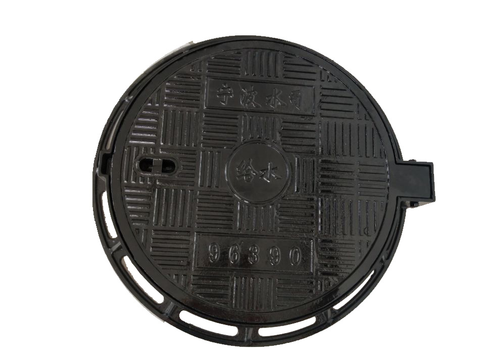 Iron round manhole cover φ700X800 cast iron light manhole cover rain and sewage well B125