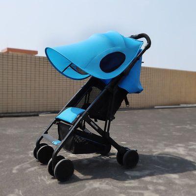 ô tô trẻ em godmy baby che nắng chống tia cực tím đa năng cho bé đầy đủ màn che chống muỗi xe đẩy vả