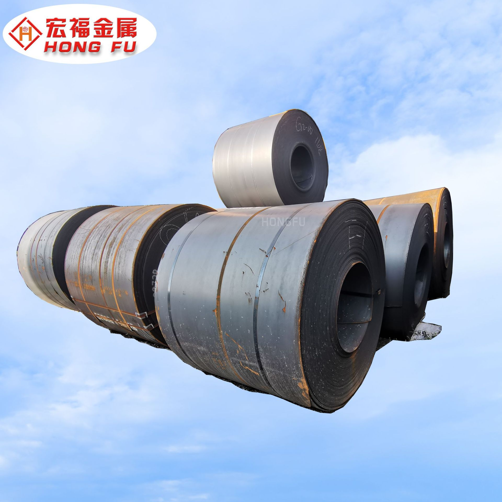 SPHC hot coil Japanese standard hot-rolled steel coil can be customized, all specifications can be s