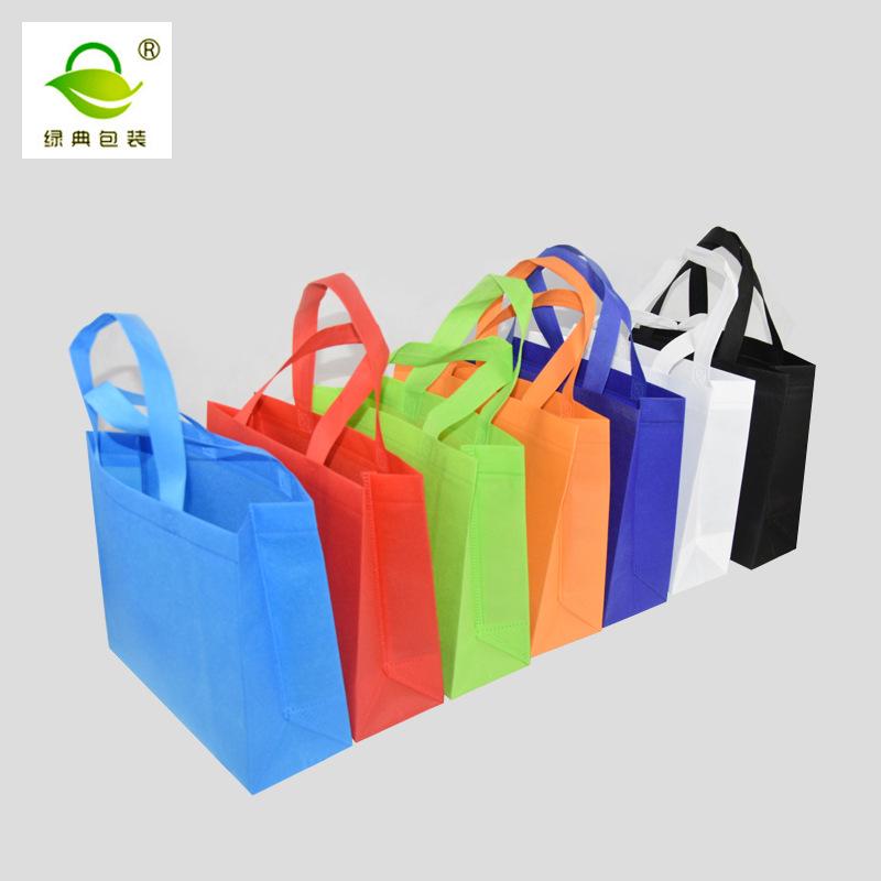 LVDIAN Shopping advertising handbags environmentally friendly sewing film hot pressing