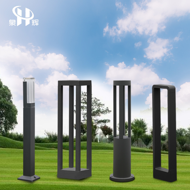 QUANHUI New style outdoor waterproof led simple modern lawn lamp, villa garden road community plug-i