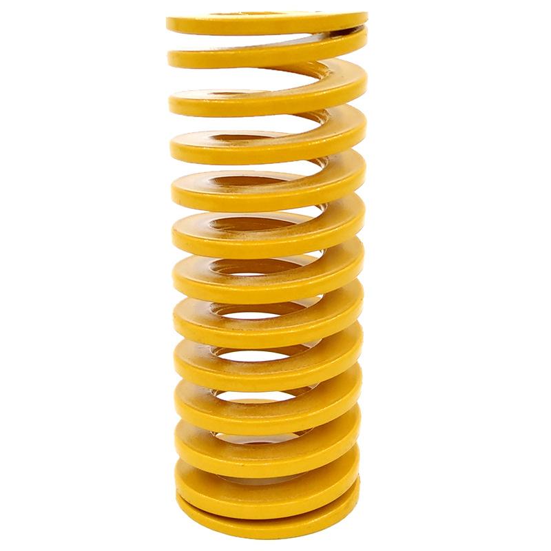 Alloy steel mold spring hardware abrasive elastic yellow high temperature resistant compression spri