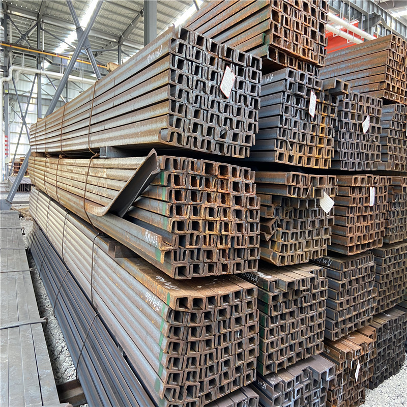 Processing punching channel steel, steel spot galvanized channel steel for curtain wall engineering