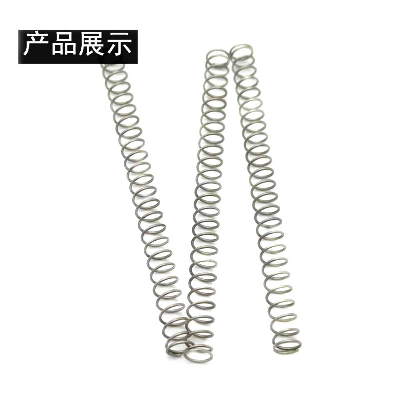 Compression spring stainless steel 304 toy spring cylindrical shock absorption large spring return c