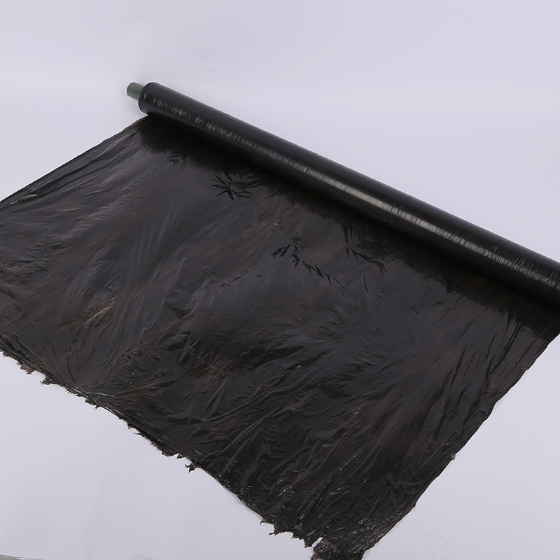 SENMAO New material black mulching film, PE plastic film, various specifications, agricultural mulch