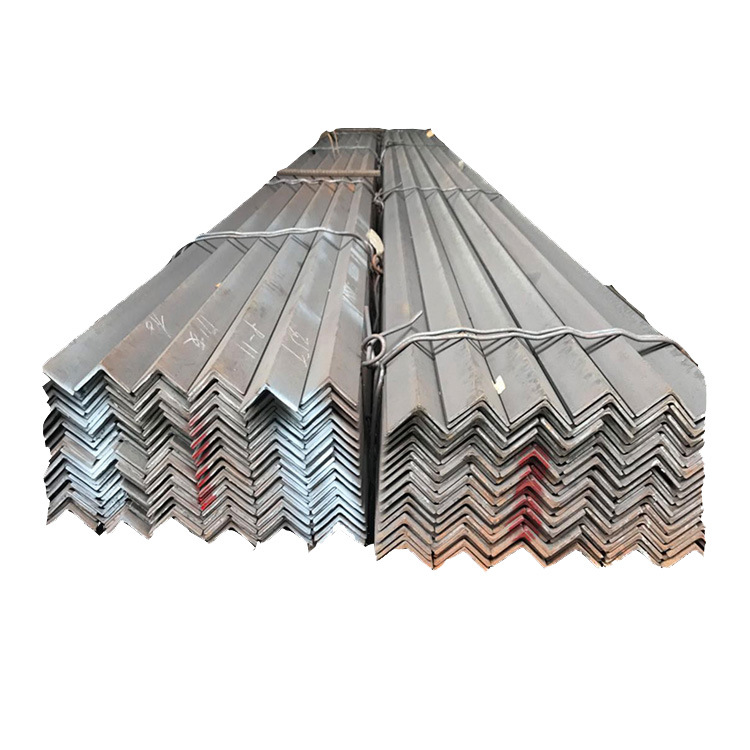 Galvanized angle steel 40 angle iron 50*50 30*30 hot-rolled triangle iron processing punching