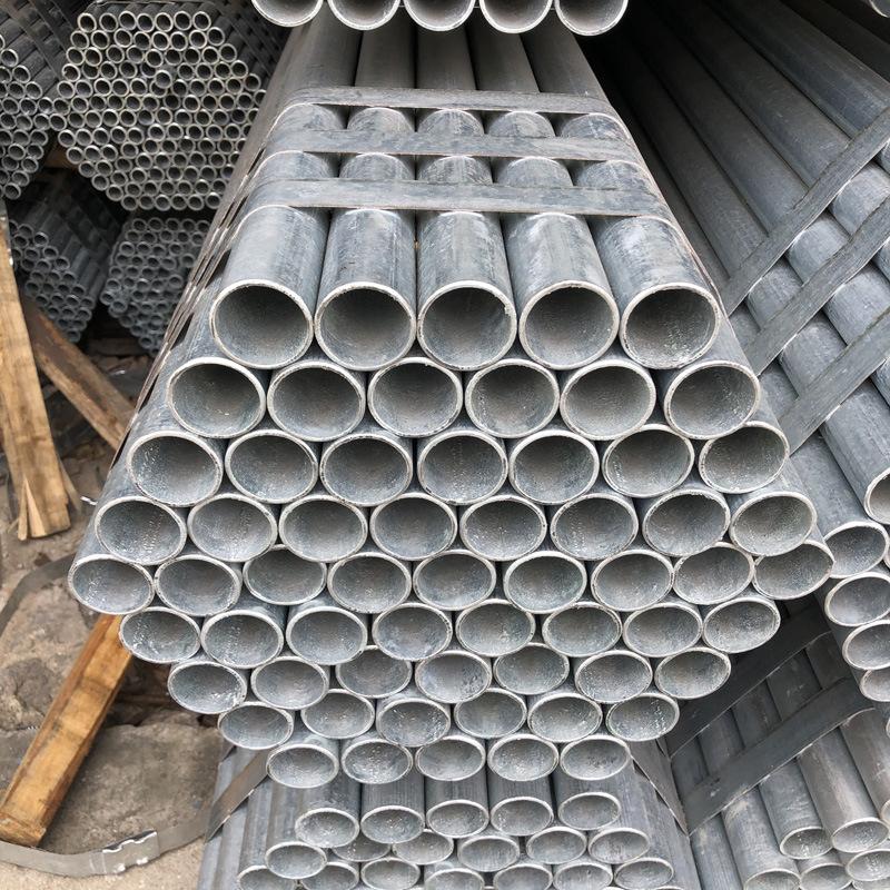 Hot-rolled national standard Ronggang Huaqi Guanggang Zhujiang steel hot-dip galvanized water pipe 4