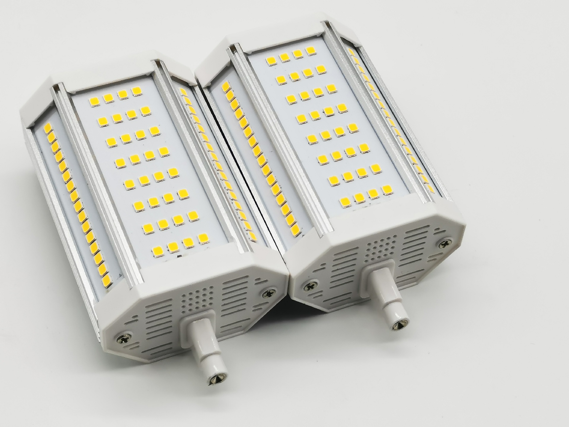 CE TUV certification 118MM 30W12W15W dimming LED R7S horizontal plug light AC110VAC220V
