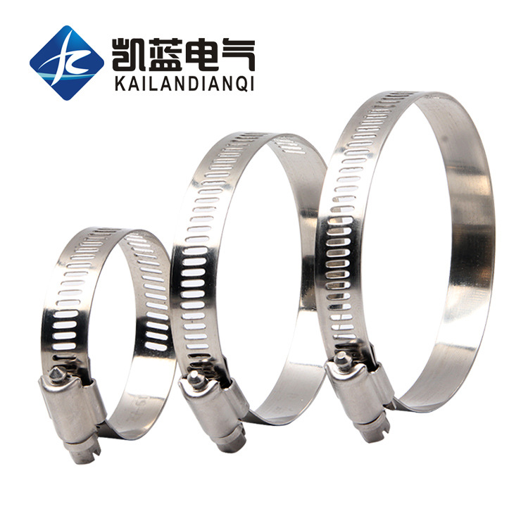 304 stainless steel hose clamp clamp clamp pipe clamp pipe clamp monitoring clamp gas pipe clamp ran