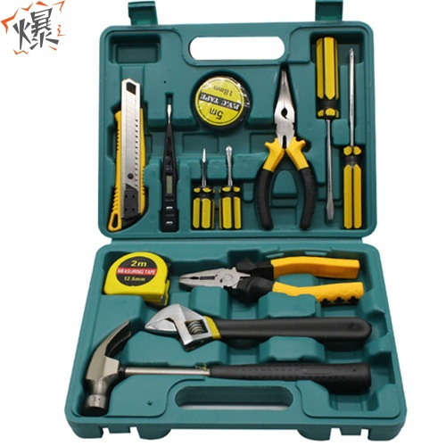 Super cost-effective household hardware tool set, repair tool box, multi-function combination tool s