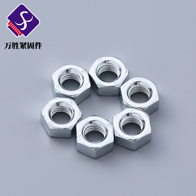 WANSHENG New standard M8×9.3 nuts wholesale metal fasteners with complete specifications and bulk cu