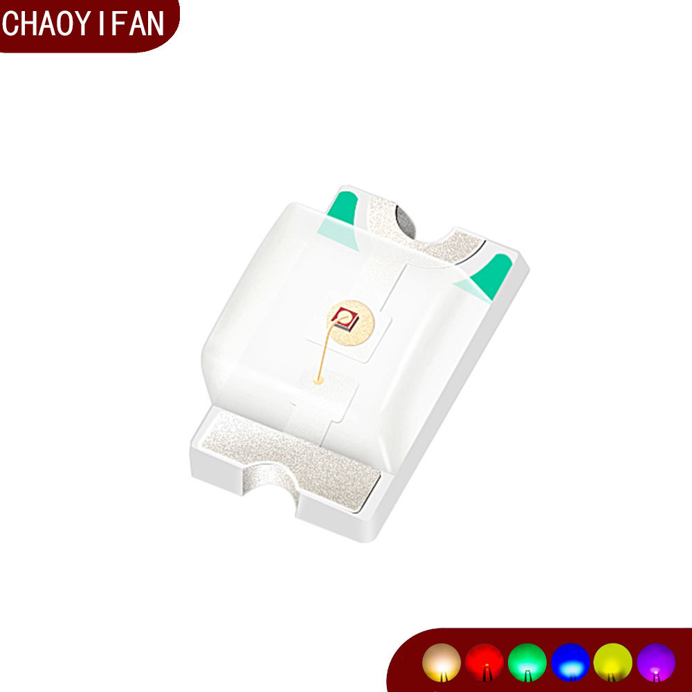 CHAOYIFAAN San'an 0805 red light led lamp beads 0805 bright red light-emitting diode patch red ligh
