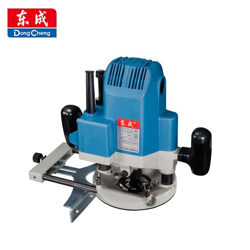 Dongcheng electric wood milling engraving machine woodworking multi-function gong machine slotting t