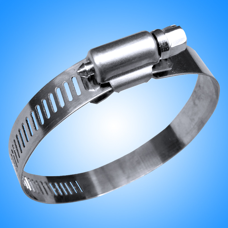 Diameter 10mm-216mm Stainless Steel Clamp Exhaust Pipe Hose Hoop Water Heater Installation Fitting H