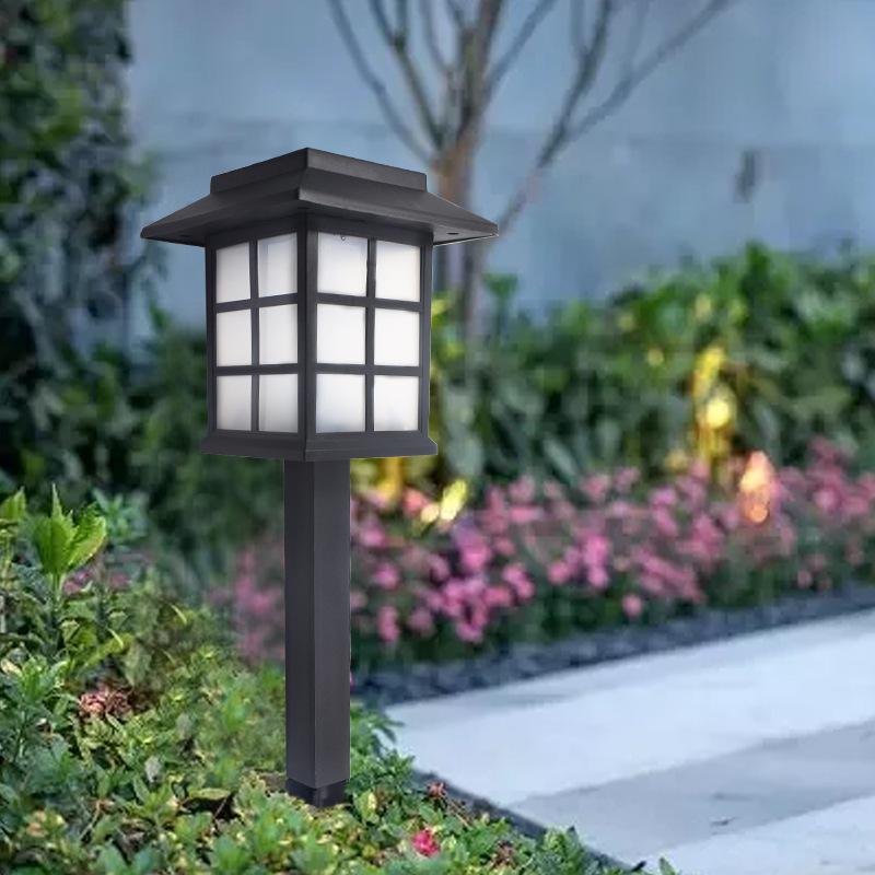 Solar lawn light, outdoor big room light, new solar big room light, antique garden landscape garden