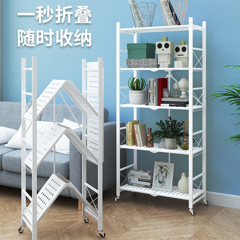 Shelves storage rack kitchen racks multifunctional floor microwave oven storage rack balcony multi-l
